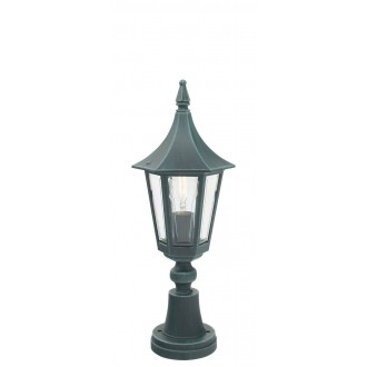 NORLYS 250BG | Rimini Norlys podna svjetiljka 47cm 1x E27 IP54 antik crno, zeleno, prozirno