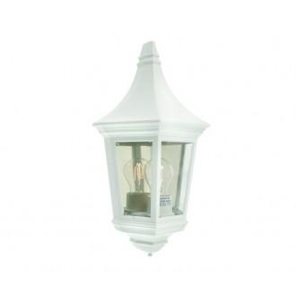 NORLYS 261W | Venedig-NO Norlys zidna svjetiljka 1x E27 IP54 bijelo, prozirno