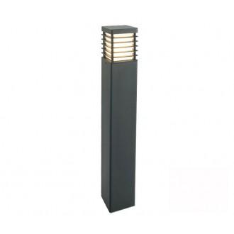 NORLYS 296GR | Halmstad Norlys podna svjetiljka 85cm 1x E27 IP65 grafit, opal