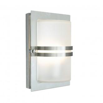 NORLYS 661ST | Basel Norlys zidna svjetiljka 1x E27 IP54 kromni mat, acidni