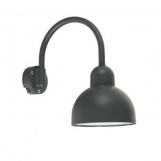 NORLYS 720GR | Koster Norlys zidna svjetiljka 1x E27 IP54 grafit