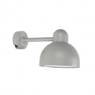 NORLYS 724AL | Koster Norlys zidna svjetiljka 1x E27 IP54 aluminij