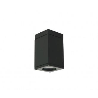 NORLYS 796B | Sandvik Norlys stropne svjetiljke svjetiljka 1x GU10 265lm 2700K IP54 crno