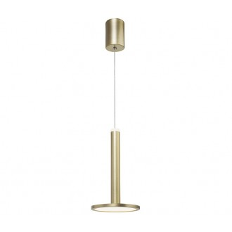 NOVA LUCE 1703301201   Palencia Nova Luce visilice svjetiljka 1x LED 414lm 3000K mesing
