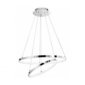 NOVA LUCE 17222003D | Aria-NL Nova Luce visilice svjetiljka 1x LED 4500lm 3000K krom