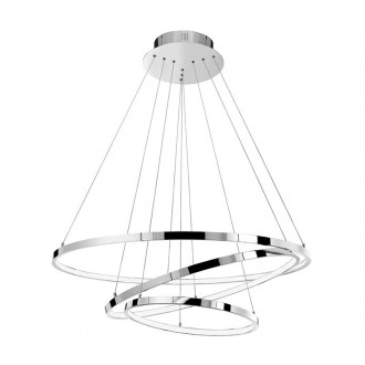 NOVA LUCE 17222004D | Aria-NL Nova Luce visilice svjetiljka 1x LED 8100lm 3000K krom