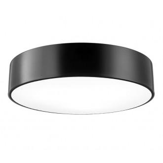 NOVA LUCE 550403 | Finezza Nova Luce stropne svjetiljke svjetiljka okrugli 3x E27 crno mat