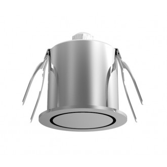 NOVA LUCE 6800201 | Technical Nova Luce ugradbena svjetiljka Ø44mm 1x LED 3000K srebrno