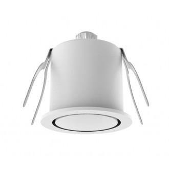 NOVA LUCE 6800202 | Technical Nova Luce ugradbena svjetiljka Ø44mm 1x LED 3000K bijelo