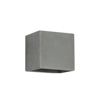 NOVA LUCE 71615601 | Mood Nova Luce zidna svjetiljka 1x G9 IP54 sivo