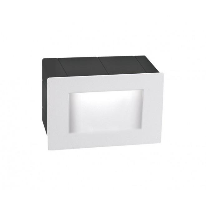 NOVA LUCE 726402   Krypton Nova Luce ugradbena svjetiljka 1x LED 270lm 3000K IP54 bijelo