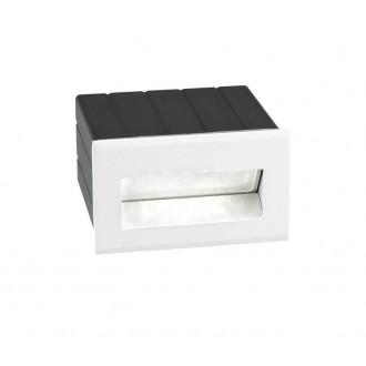 NOVA LUCE 726403 | Krypton Nova Luce ugradbena svjetiljka 1x LED 145lm 3000K IP54 bijelo