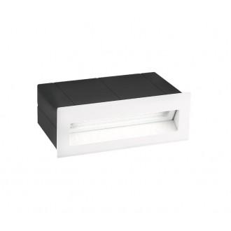 NOVA LUCE 726405 | Krypton Nova Luce ugradbena svjetiljka 1x LED 270lm 3000K IP54 bijelo