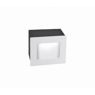 NOVA LUCE 727001 | Krypton Nova Luce ugradbena svjetiljka 1x LED 270lm 3000K IP54 bijelo