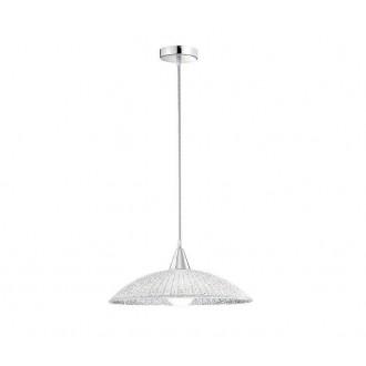 NOVA LUCE 7326501 | Andria-NL Nova Luce visilice svjetiljka okrugli 1x E27 bijelo, krom