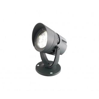 NOVA LUCE 742071 | Inside Nova Luce ambient osvetljenje svjetiljka elementi koji se mogu okretati 1x LED 1440lm 3000K IP54 tamno siva