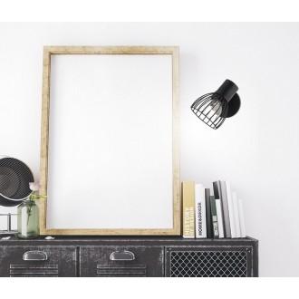 NOVA LUCE 770010 | Fiumicino Nova Luce spot svjetiljka elementi koji se mogu okretati 1x E14 crno mat
