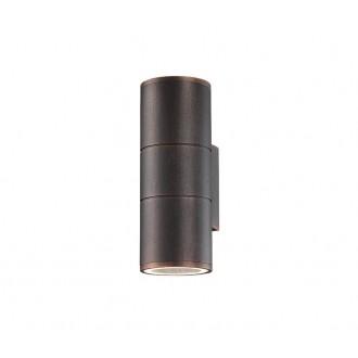 NOVA LUCE 773224 | Nodus-NL Nova Luce zidna svjetiljka 2x GU10 IP54 braon antik