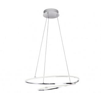 NOVA LUCE 8101201 | Viareggio Nova Luce visilice svjetiljka 1x LED 2000lm 3000K krom, bijelo