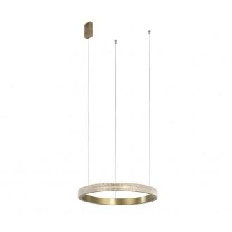NOVA LUCE 86016803 | Orlando-NL Nova Luce visilice svjetiljka 1x LED 1265lm 3000K antik brončano, prozirno