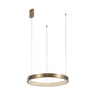 NOVA LUCE 86016808 | Vegas-NL Nova Luce visilice svjetiljka 1x LED 1020lm 3000K antik brončano