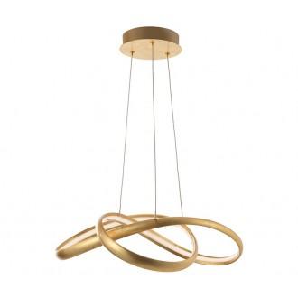 NOVA LUCE 9002602   Ross Nova Luce visilice svjetiljka 1x LED 2160lm 3000K zlatno, bijelo