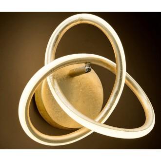 NOVA LUCE 9002606 | Arco-NL Nova Luce zidna svjetiljka 1x LED 660lm 3000K zlatno, bijelo