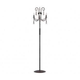 NOWODVORSKI 2765 | Twist Nowodvorski podna svjetiljka 172cm s prekidačem 3x E14 antik brončano