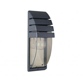 NOWODVORSKI 3393 | MistralN Nowodvorski zidna svjetiljka 1x E27 IP44 crno