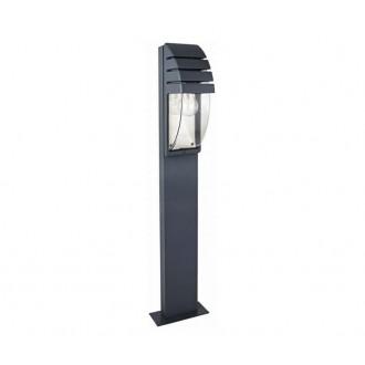 NOWODVORSKI 3394 | MistralN Nowodvorski podna svjetiljka 100cm 1x E27 IP44 crno