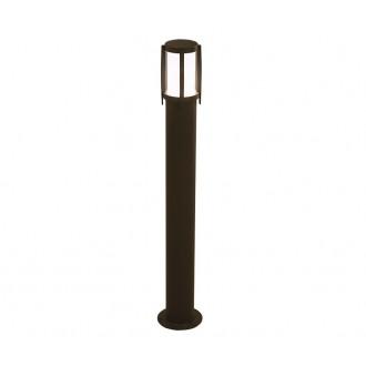 NOWODVORSKI 3396 | Sirocco Nowodvorski podna svjetiljka 90cm 1x E27 IP44 crno