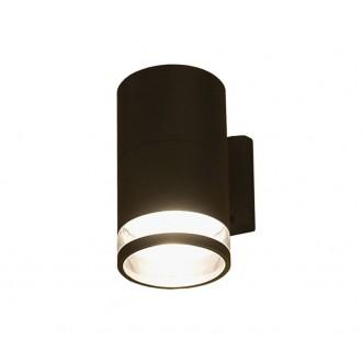 NOWODVORSKI 3405 | RockN Nowodvorski zidna svjetiljka 1x E27 IP44 crno, prozirna