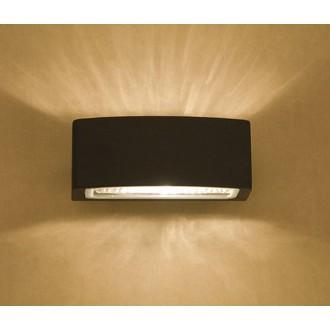 NOWODVORSKI 3408 | Brick Nowodvorski zidna svjetiljka 1x E27 IP65 grafit, prozirna