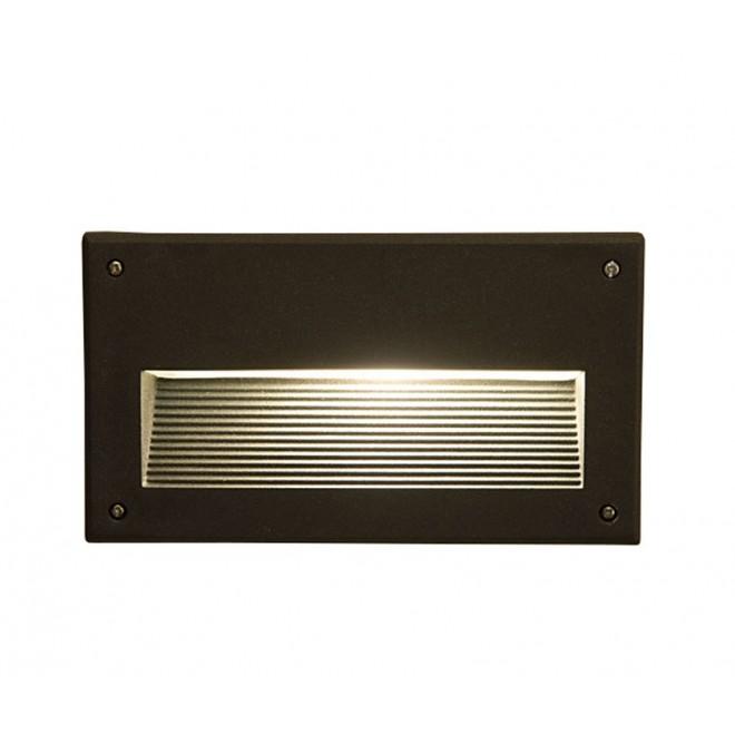 NOWODVORSKI 3412 | Basalt Nowodvorski ugradbena svjetiljka 1x E14 IP44 crno