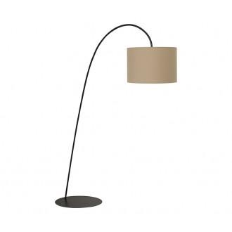 NOWODVORSKI 3464 | AliceN Nowodvorski podna svjetiljka 205cm s prekidačem 1x E27 kafena