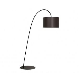 NOWODVORSKI 3471 | AliceN Nowodvorski podna svjetiljka 205cm s prekidačem 1x E27 smeđe