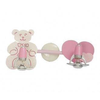 NOWODVORSKI 3657 | Honey Nowodvorski zidna, stropne svjetiljke svjetiljka elementi koji se mogu okretati 2x E14-R50 ružičasto, bijelo
