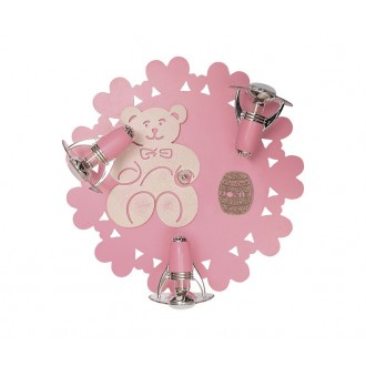 NOWODVORSKI 3661 | Honey Nowodvorski zidna, stropne svjetiljke svjetiljka elementi koji se mogu okretati 3x E14-R50 ružičasto, bijelo
