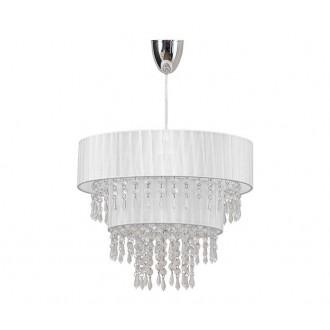 NOWODVORSKI 4013 | ToscanaN Nowodvorski visilice svjetiljka 1x E27 bijelo, prozirno