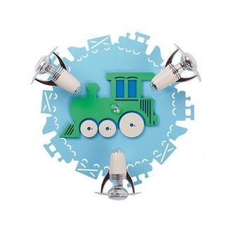 NOWODVORSKI 4064 | Train Nowodvorski zidna, stropne svjetiljke svjetiljka elementi koji se mogu okretati 3x E14-R50 plavo, bijelo