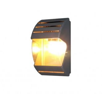 NOWODVORSKI 4390 | MistralN Nowodvorski zidna svjetiljka 1x E27 IP44 crno