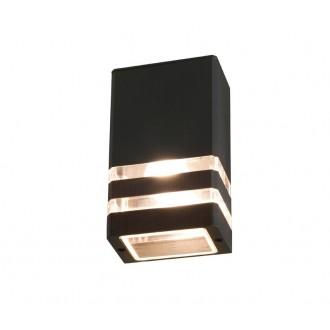 NOWODVORSKI 4423 | Rio Nowodvorski zidna svjetiljka 1x E27 IP54 crno, prozirna