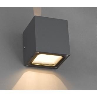 NOWODVORSKI 4443 | Khumbu Nowodvorski zidna svjetiljka 1x G9 IP44 sivo