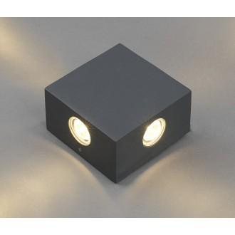 NOWODVORSKI 4444 | Zem Nowodvorski zidna svjetiljka 4x LED 321lm 3000K IP54 sivo