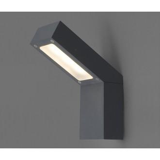 NOWODVORSKI 4447 | Lhotse Nowodvorski zidna svjetiljka 3x LED 169lm 3000K IP54 crno, bijelo