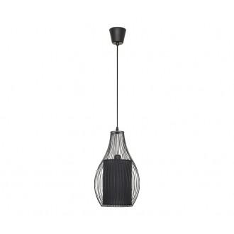 NOWODVORSKI 4610 | Camilla Nowodvorski visilice svjetiljka 1x E27 crno