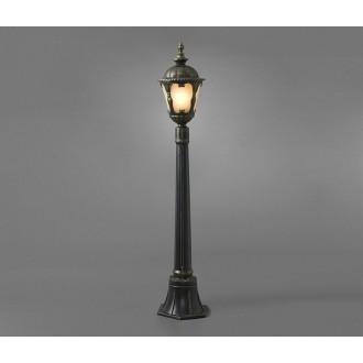 NOWODVORSKI 4685 | Tybr Nowodvorski podna svjetiljka 115cm 1x E27 IP44 crno, opal