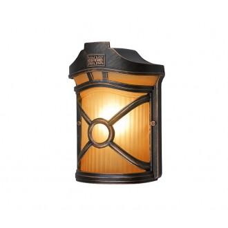 NOWODVORSKI 4687 | Don Nowodvorski zidna svjetiljka 1x E27 IP44 bronca, opal
