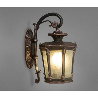 NOWODVORSKI 4692 | AmurN Nowodvorski zidna svjetiljka 1x E27 IP23 bronca, prozirna