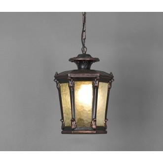 NOWODVORSKI 4693 | AmurN Nowodvorski visilice svjetiljka 1x E27 IP23 bronca, prozirna
